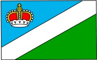 Flaga Powiatu Augustowskiego
