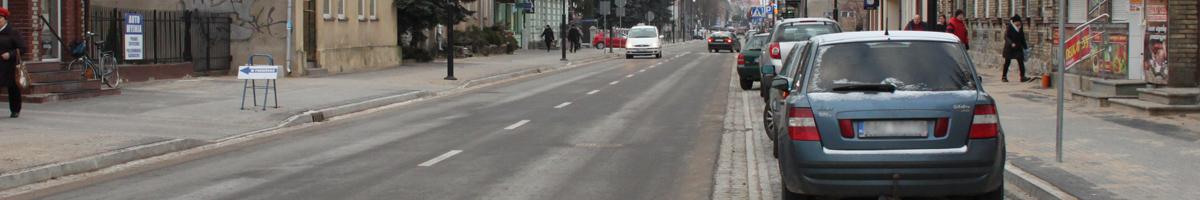 Augustów, ulica 3 Maja oddana do użytku