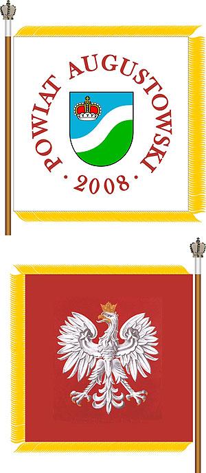 Sztandar Powiatu Augustowskiego