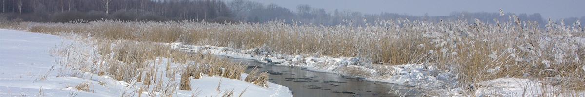 Zima w Powiecie Augustowskim