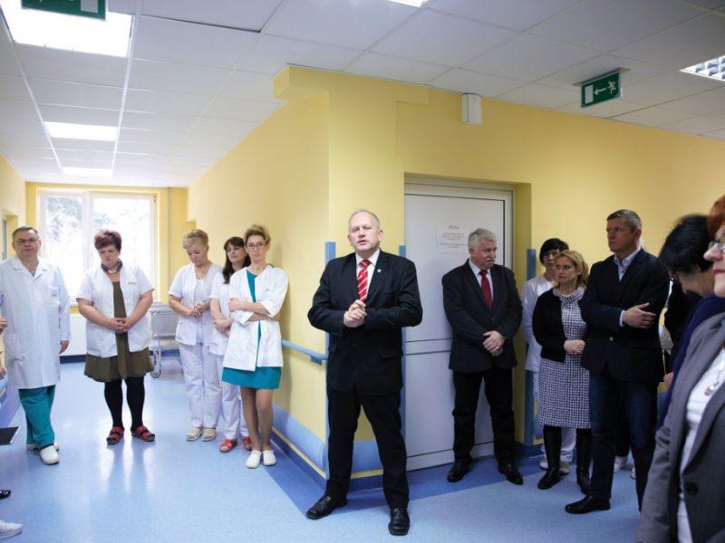 modernizacja oddziału wewnętrznego – fot. M.Chodacz