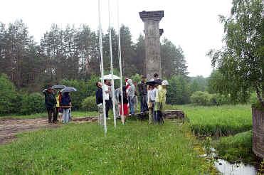Zwiedzanie śluzy granicznej w Kurzyńcu