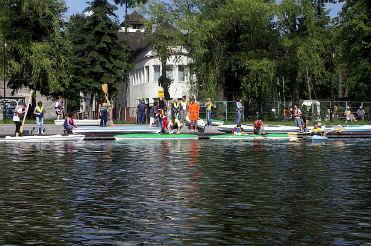 Spływ kajakami szlakiem kanału Augustowskiego (1)