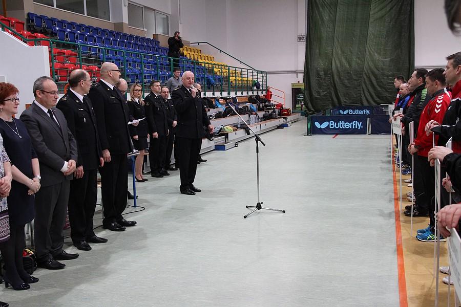 XXXIV Mistrzostwa Polski Strażaków w tenisie stołowym