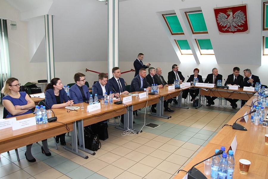 Spotkanie samorządowców