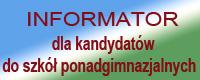 Informator dla kandydatów do szkół ponadgimnazjalnych