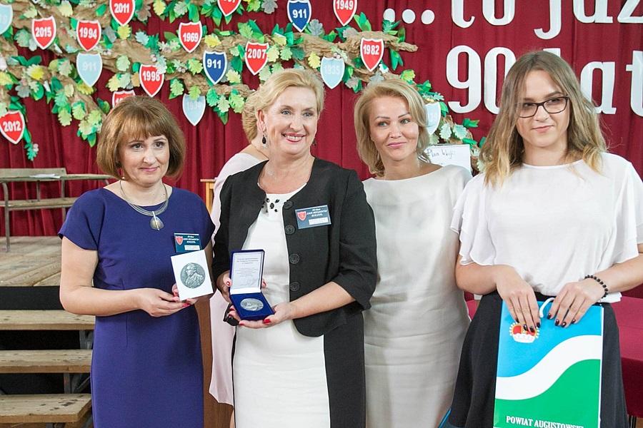 Uroczyste obchody 90-lecia I Liceum Ogólnokształcącego w Augustowie