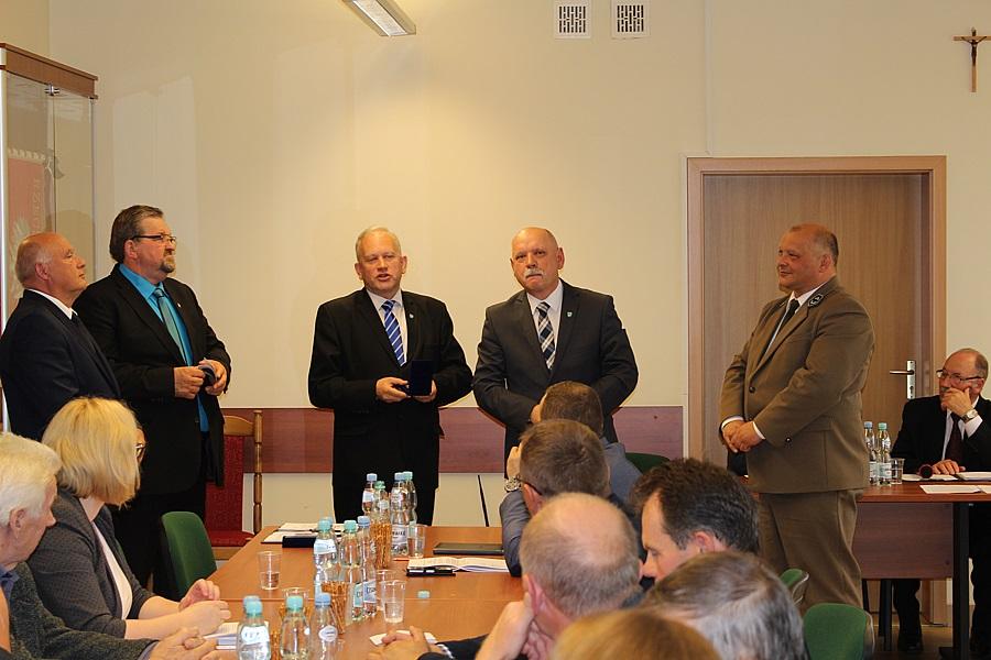 Medale dla samorządowców z Bargłowa