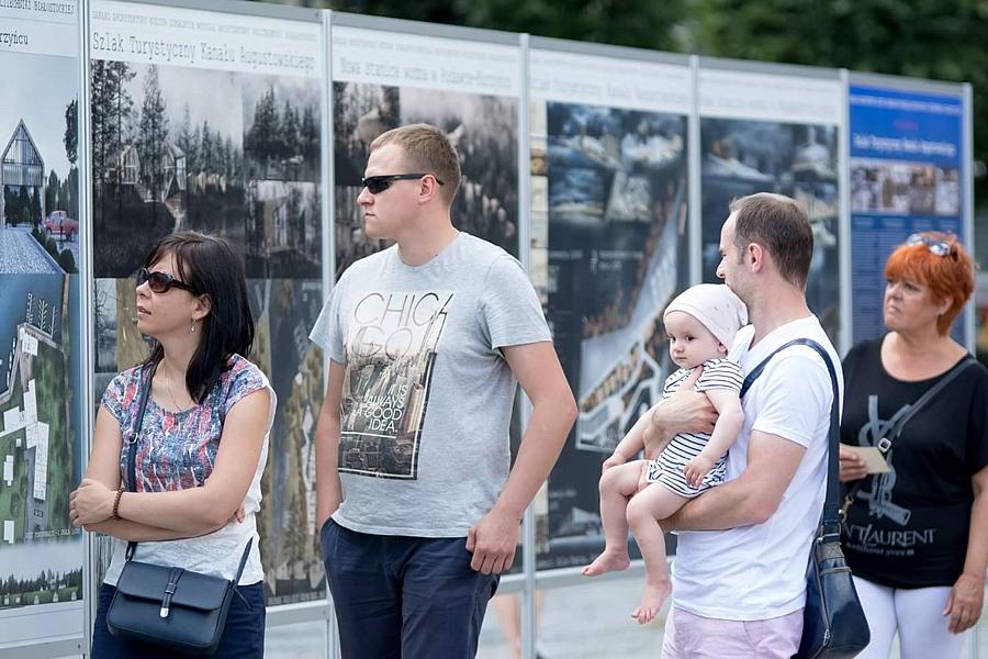 """Otwarcie wystawy """"Szlak Turystyczny Kanału Augustowskiego"""""""