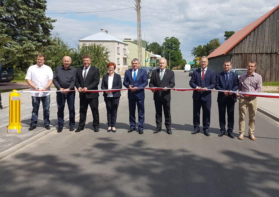Przebudowa drogi Bargłów Kościelny – Netta Folwark