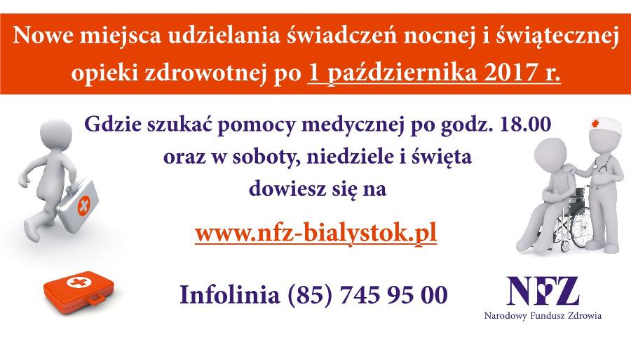 NFZ - Nocna opieka zdrowotna
