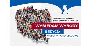 """Konkurs Wiedzy o Prawie Wyborczym """"Wybieram Wybory"""""""