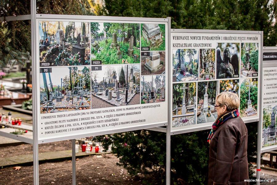 kwesta na augustowskim cmentarzu