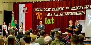 Uroczyste obchody 70 – lecia Zespołu Szkół Technicznych