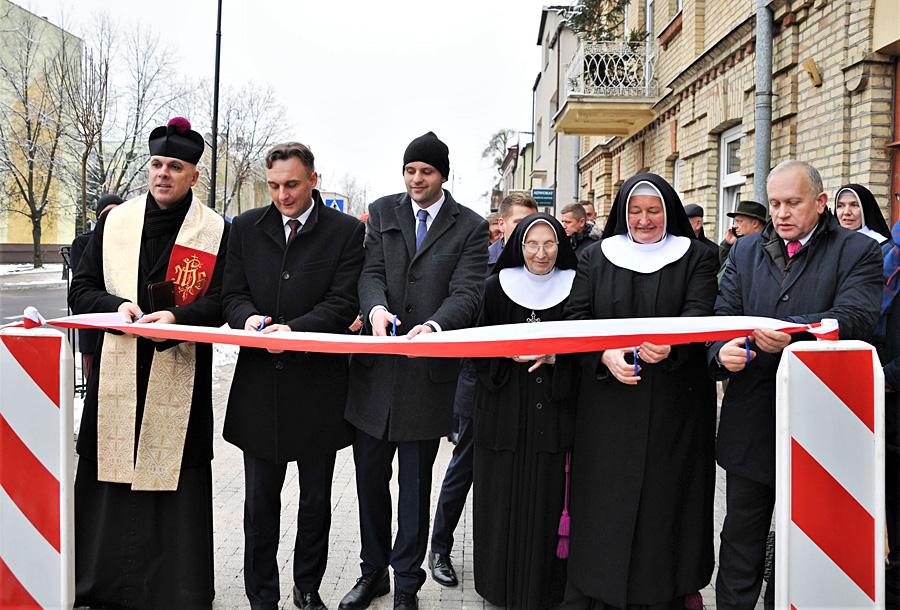 Oficjalne otwarcie ul. 3 Maja