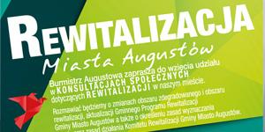 Konsultacje społeczne dotyczące rewitalizacji miasta Augustowa