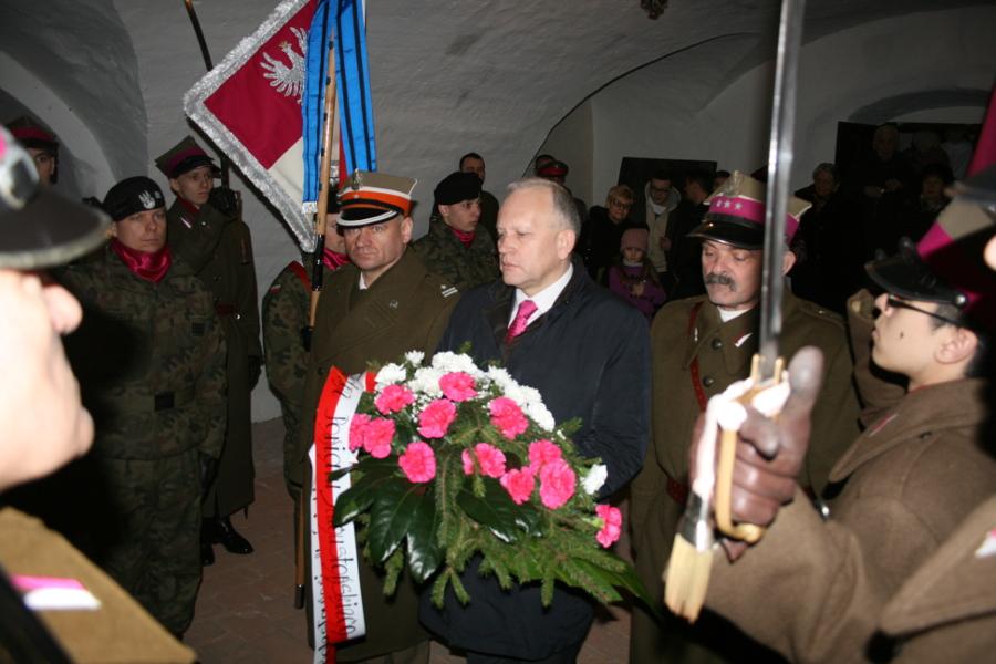 Uczczono pamięć płk. Bolesława Mościckiego