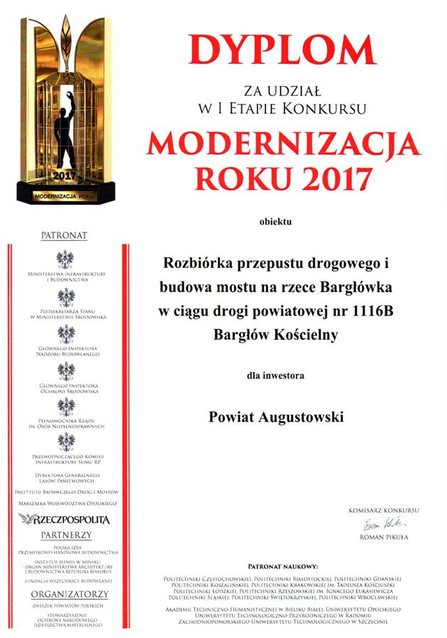 Modernizacja Roku 2017