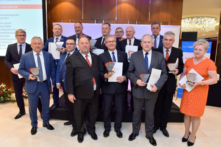 uroczystość wręczenia nagród laureatom Rankingu Powiatów 2017 - fot.2