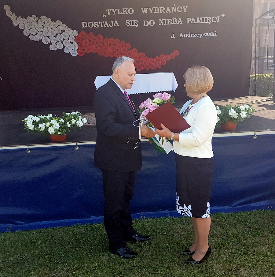20. Rocznica nadania imienia Szkole Podstawowej w Rutkach