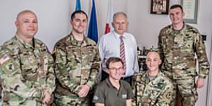 Spotkanie z amerykańskimi żołnierzami
