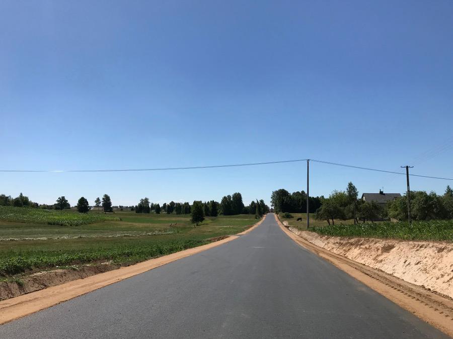 Otwarcie drogi Bargłów Kościelny – Nowiny – Uścianki