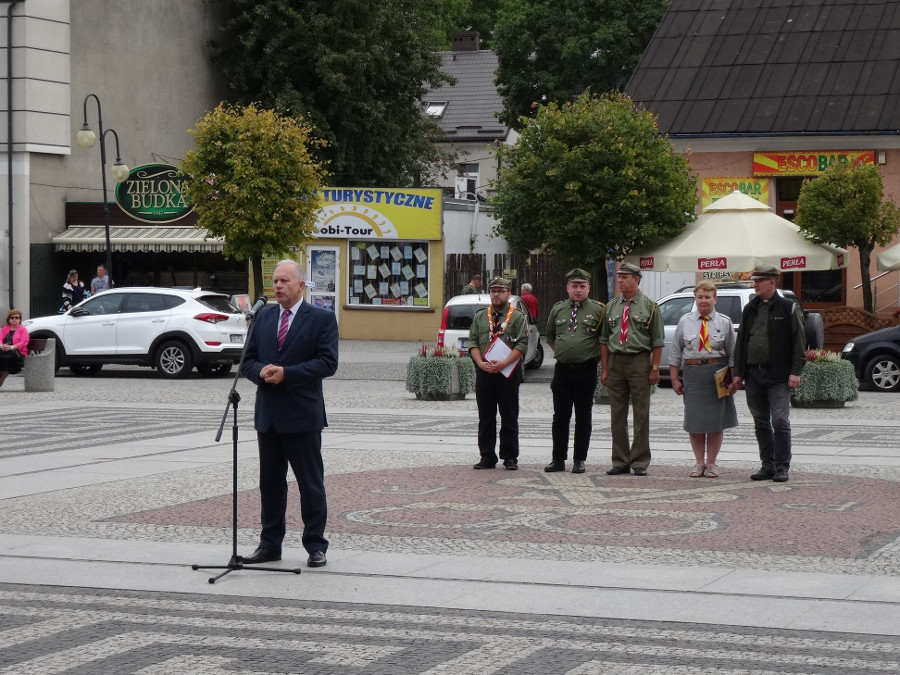 100 lat harcerstwa w Augustowie fot.1