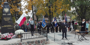 W Sztabinie odsłonięty został Pomnik Niepodległości