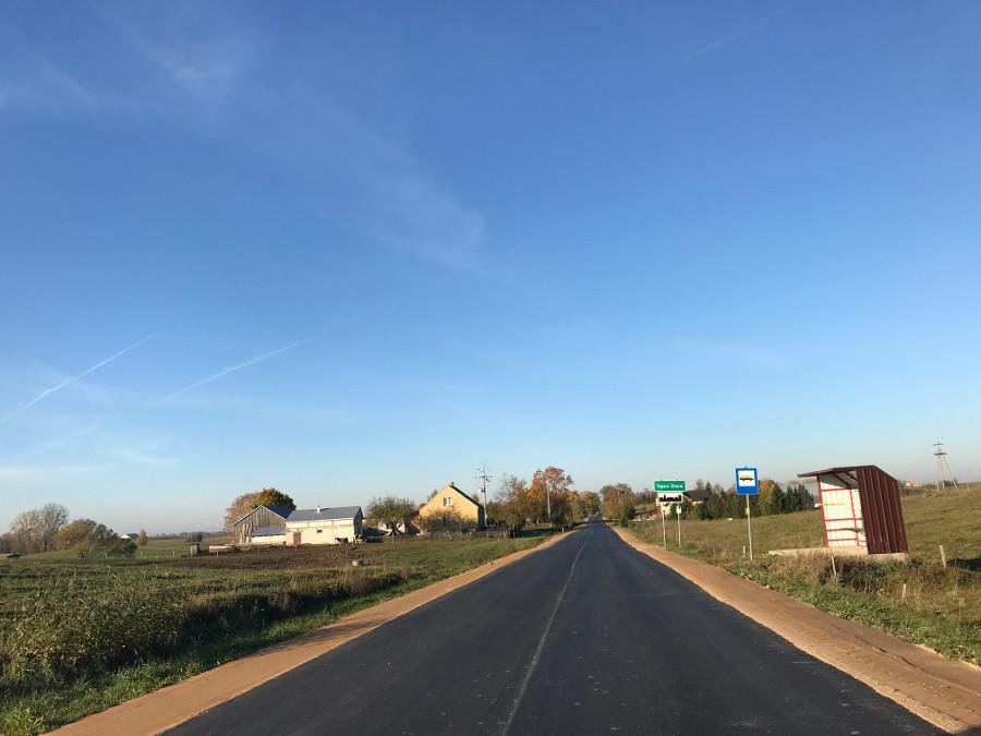 Wyremontowano kolejne drogi powiatowe - fot.1