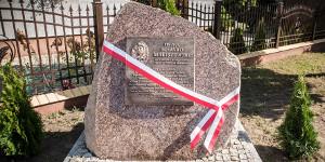 Upamiętniono bohatera z Augustowa