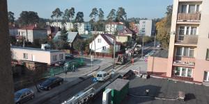 Trwają prace na powiatowych ulicach w Augustowie