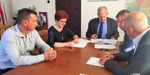 Podpisano umowę na przebudowę ul. Saperów w Lipsku