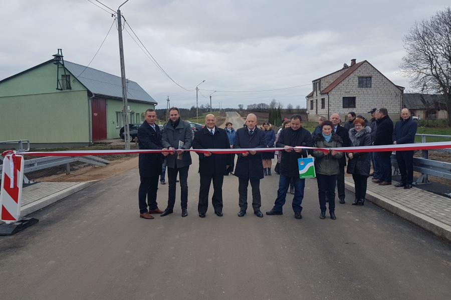 Nowy most w Bargłówce