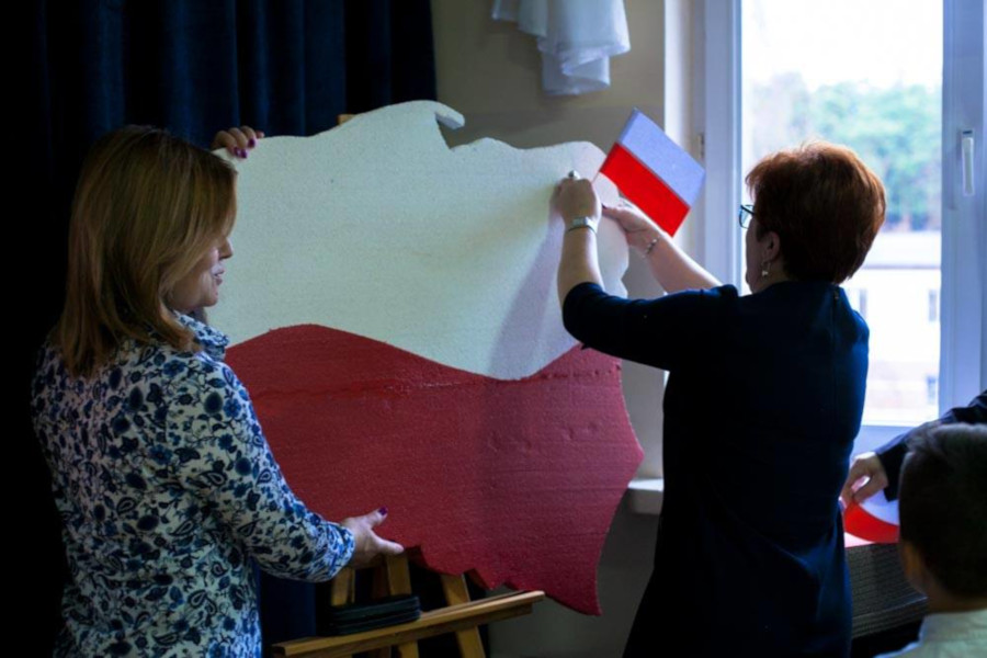 Obchody Święta Niepodległości w Zespole Szkół Specjalnych w Augustowie