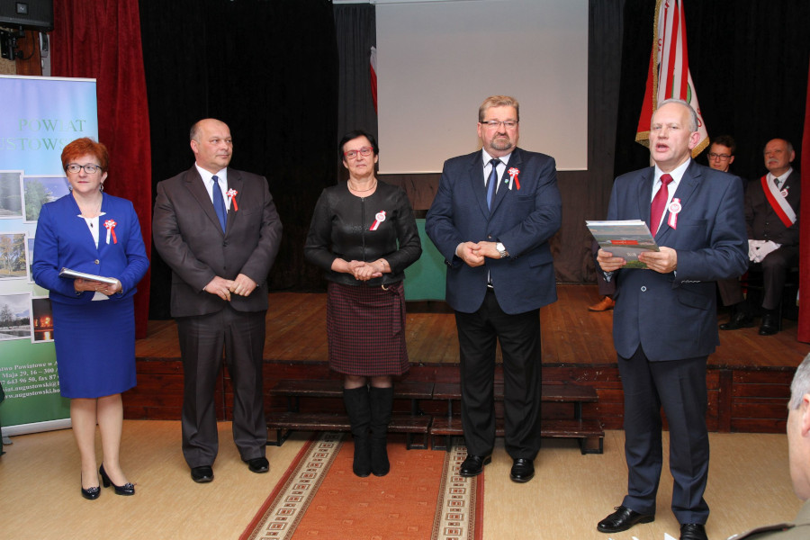 Powiatowe obchody 100. Rocznicy Odzyskania Niepodległości przez Polskę
