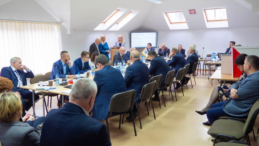 I Sesja Rady Powiatu w Augustowie