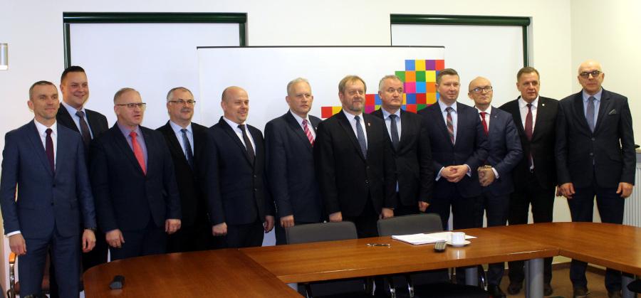 Pierwsze posiedzenie VI kadencji Konwentu Powiatów Województwa Podlaskiego