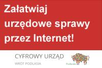 Załatwiaj urzędowe sprawy przez internet