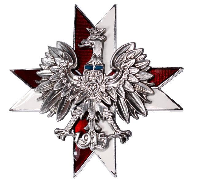 odznaka 1 Pułku Ułanów Krechowieckich im. płk. Bolesława Mościckiego