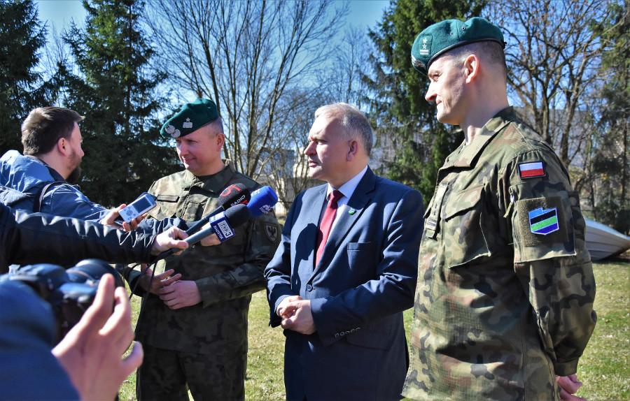"""Ćwiczenia wojskowe pod kryptonimem """"BRAMA 19"""" - fot. 2"""