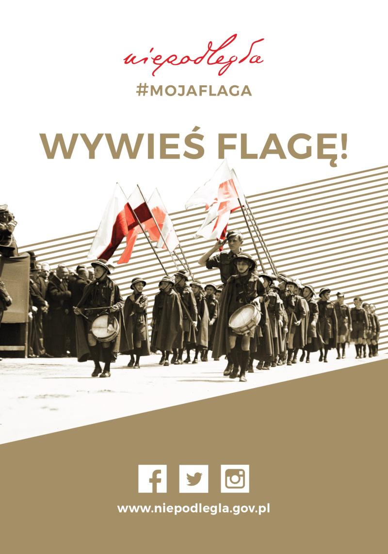 Plakat Wywieś flagę