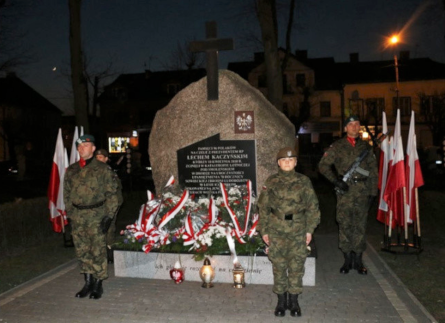 obchody 9. rocznicy Katastrofy Smoleńskiej - fot.2