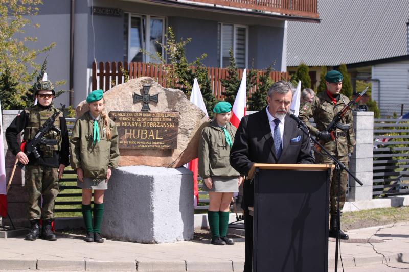 Obchody Narodowego Dnia Zwycięstwa- Przemówienie  Lecha Łępickiego