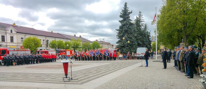 Powiatowe Obchody Dnia Strażaka w Augustowie.