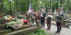 W hołdzie żołnierzom 1 Pułku Ułanów Krechowieckich