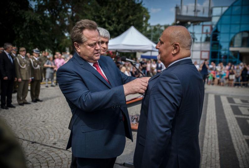 Odznaczenie Srebrnym Krzyżem Zasługi Dariusza Jana Szkiłądzia