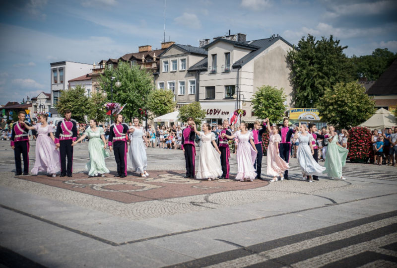 Występ Zespołu Tańca Ludowego Bystry