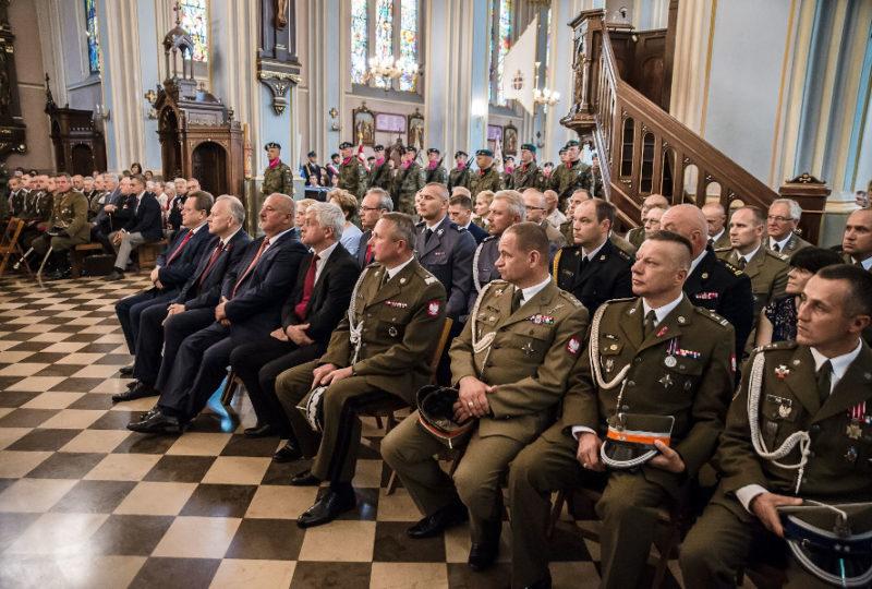 Uroczysta Msza święta podczas obchodów 100. Rocznicy Odzyskania Niepodległości przez Ziemię Augustowską