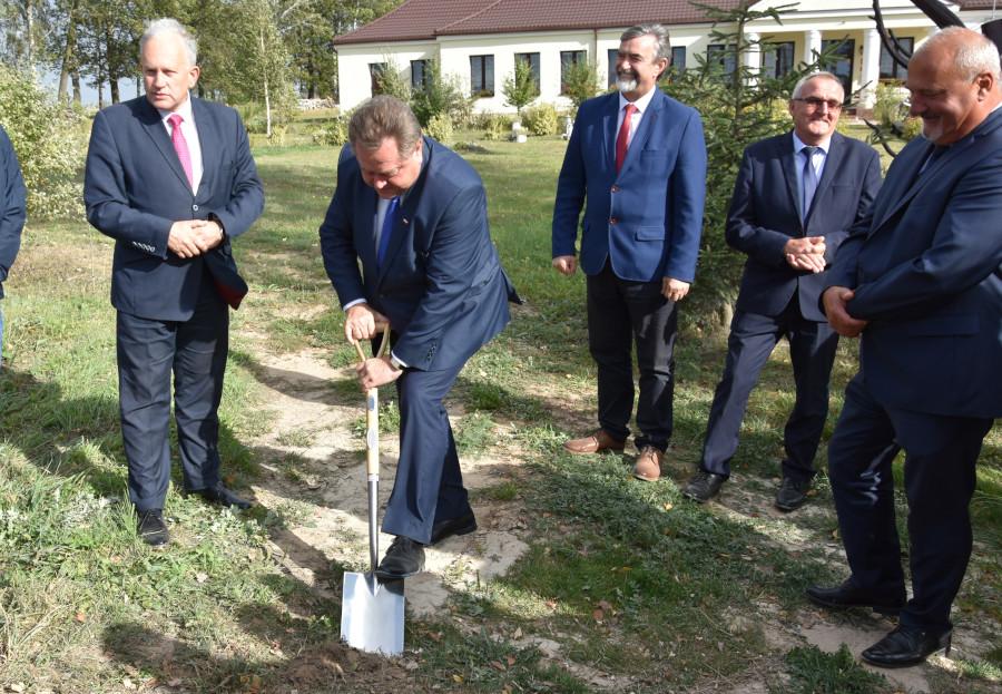 rozbudowa odcinka drogi Kurianka – Starożyńce – Bartniki w Gminie Lipsk