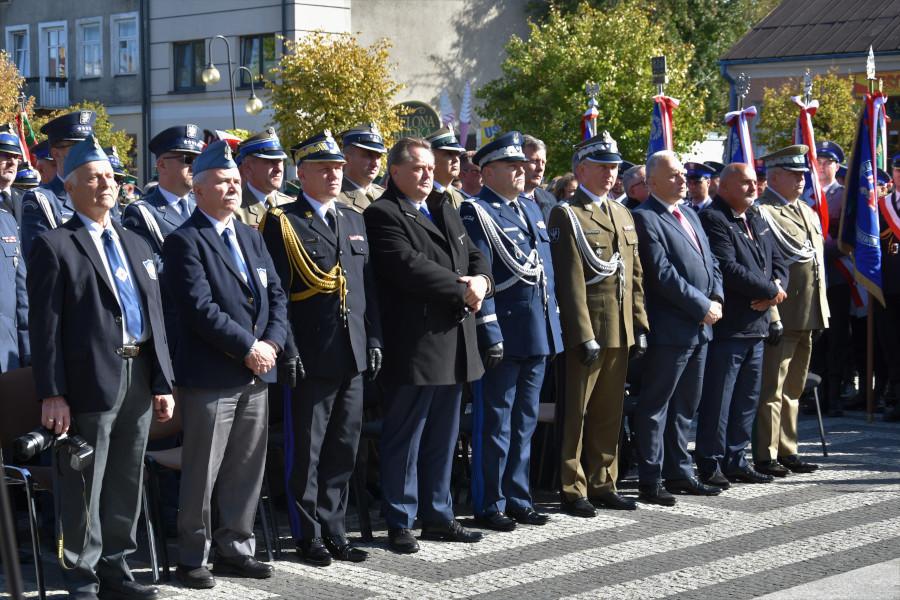 Uroczystość odsłonięcia pomnika Ofiar Obławy Augustowskiej